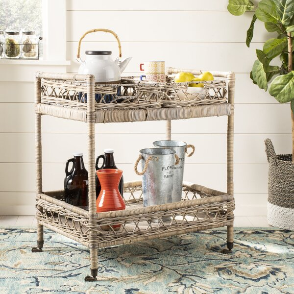 Lynn Bar Cart by Rosecliff Heights