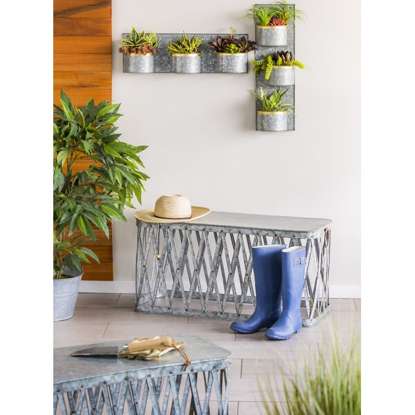 Metal Bench Nested Set Of 2 by Gracie Oaks
