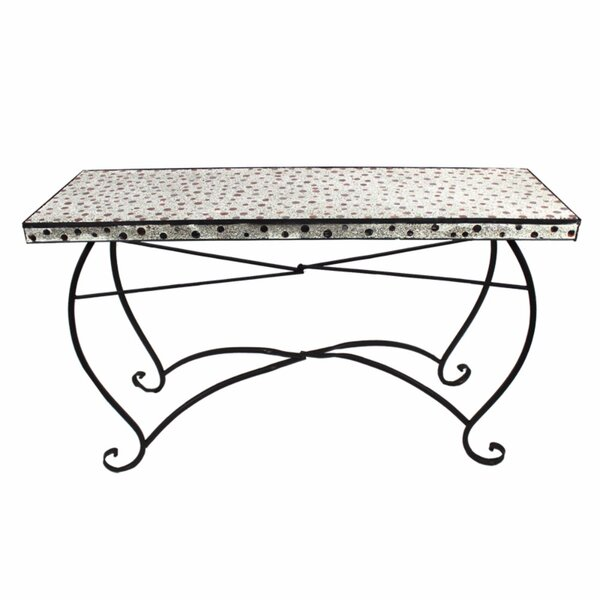 Merkley Well-Designed Rectangular Metal Dining Table by August Grove