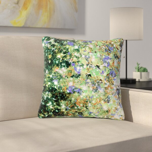 Ebi Emporium Into to the Night Outdoor Throw Pillow by East Urban Home