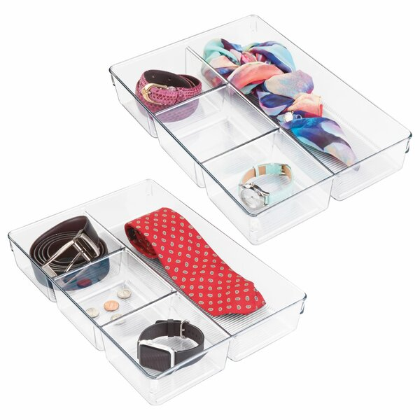 Eita 2.25 H x 13 W x 9 D Drawer Organiser (Set of 3) by Rebrilliant
