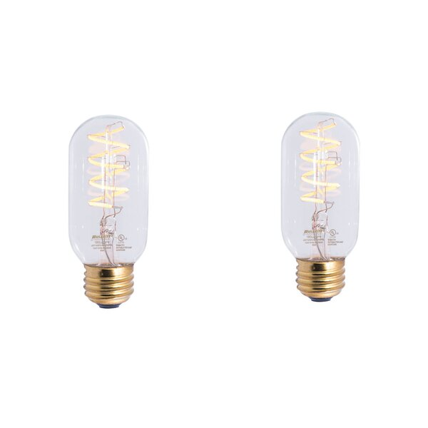 4W E26 Dimmable LED Stick Light Bulb (Set of 2) by Bulbrite Industries