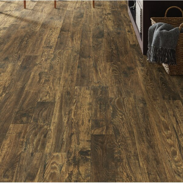 Simple Selects 8 x 51 x 6mm Laminate Flooring in Advocate Hickory by Shaw Floors