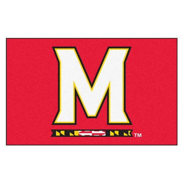 Collegiate NCAA University of Maryland Doormat by FANMATS