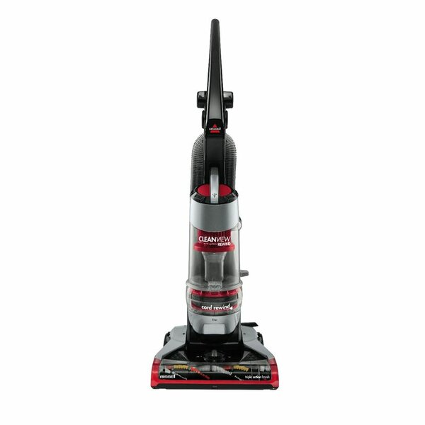 Plus Rewind Cleaner Bagless Upright Vacuum by Biss