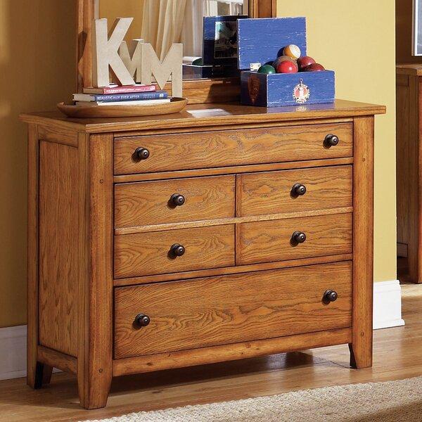 Grandpas Cabin 3 Drawer Dresser by Millwood Pines