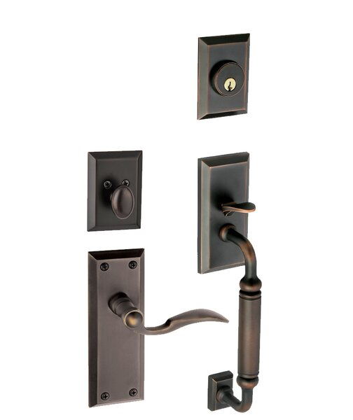 Fifth Avenue S-Grip Right Hand Door Lever by Grandeur