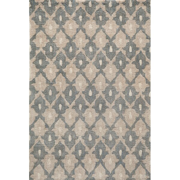 Allen Hand-Tufted Sand Area Rug by Bungalow Rose