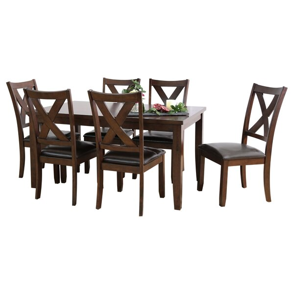 Pettry 7 Piece Dining Set by Alcott Hill Alcott Hill