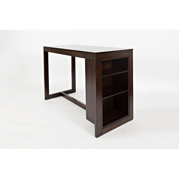 Meidinger Solid Wood Counter Height Dining Table by Alcott Hill