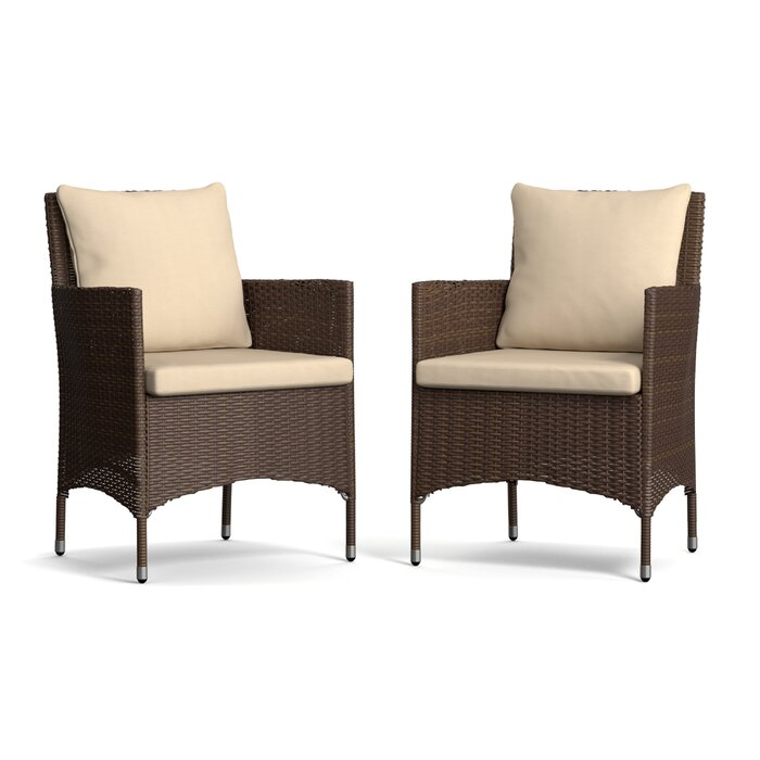 Joss And Main Outdoor Dining Chairs