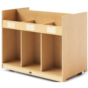 Mobile Library Standard Bookcase Whitney Brothers