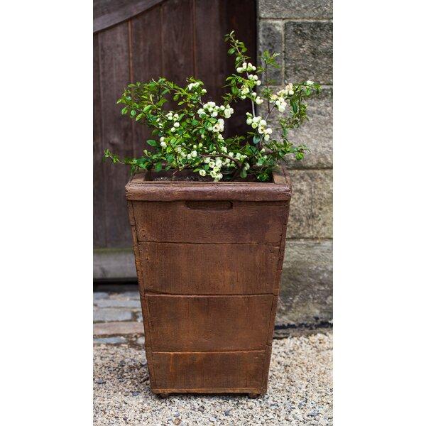 Witwicki Cast Stone Pot Planter by Gracie Oaks