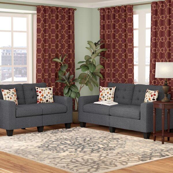 Callanan 2 Piece Living Room Set by Andover Mills