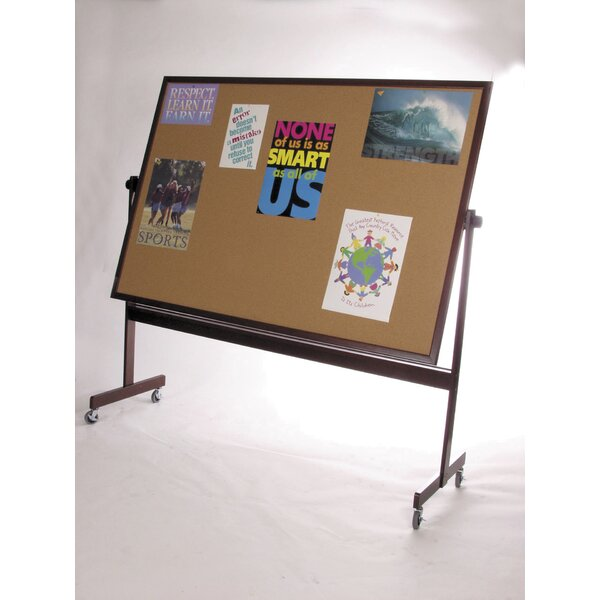 Deluxe Dura-Rite Reversible Magnetic Whiteboard by Best-Rite®