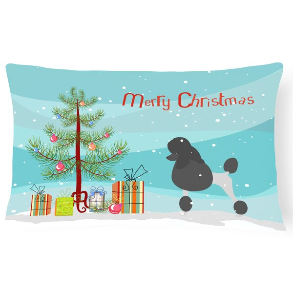 Poodle Indoor/Outdoor Lumbar Pillow by The Holiday Aisle