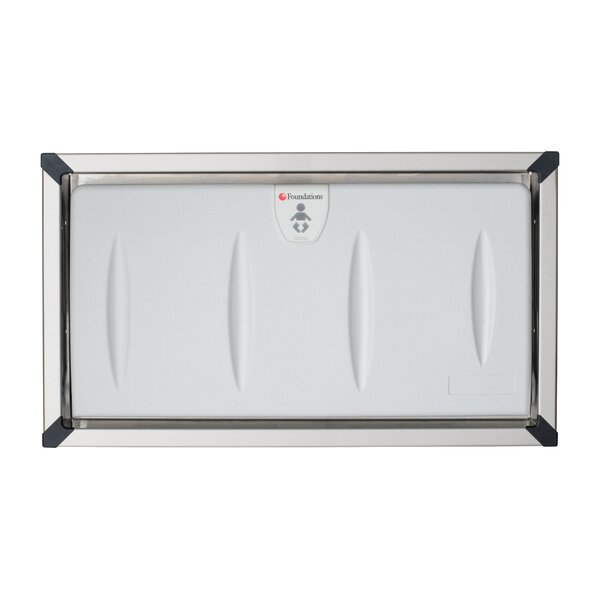 Foundations Horizontal Commercial Baby Changing Station For Public - Commercial bathroom baby changing table