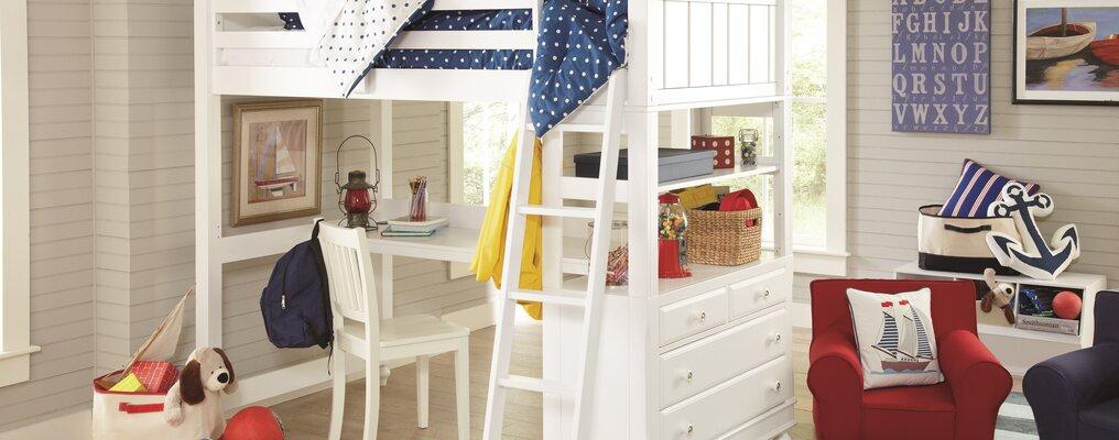Farmhouse & Rustic Kids Playroom & Storage | Birch Lane
