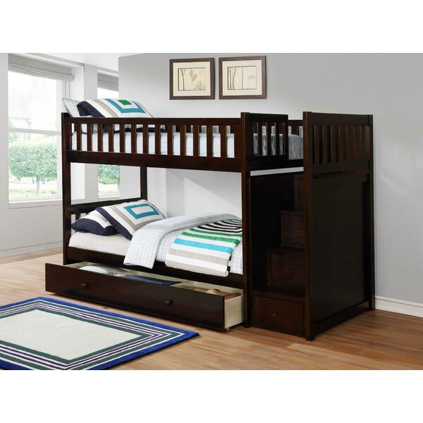 Camren Bunk Bed with Trundle by Harriet Bee