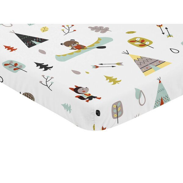 Outdoor Adventure Fitted Mini Crib Sheet by Sweet Jojo Designs