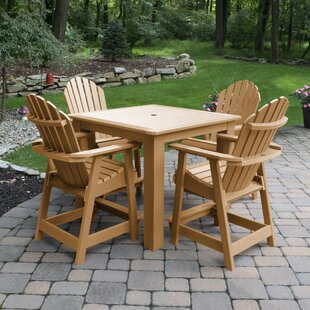 Deerpark 5 Piece Counter Height Dining Set By Longshore Tides