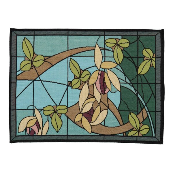 Mcfall Flowers and Vines 17 Placemat (Set of 4) by Winston Porter