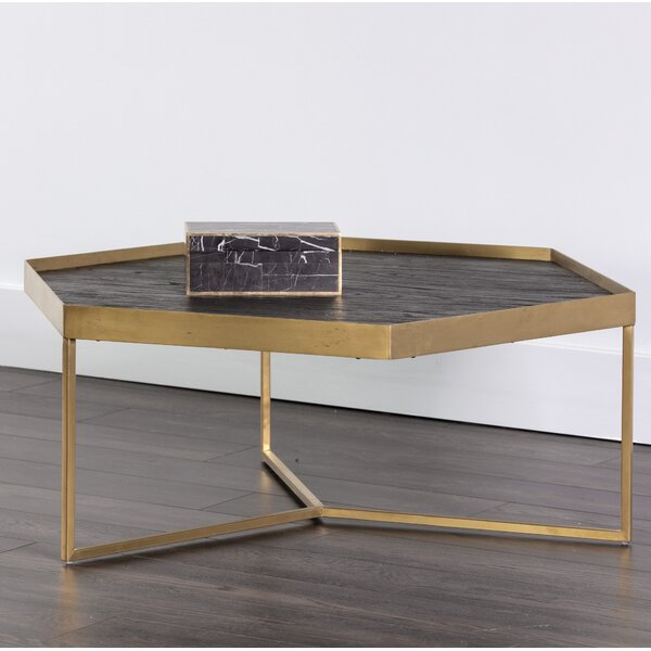 Shay Coffee Table with Tray Top by Sunpan Modern