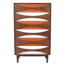 Tallboy 6 Drawer Chest by Design Tree Home