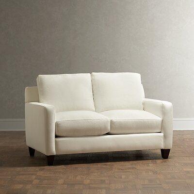 Wondrous Kerry Loveseat Birch Lane Heritage Body Fabric Zula Charcoal Cjindustries Chair Design For Home Cjindustriesco