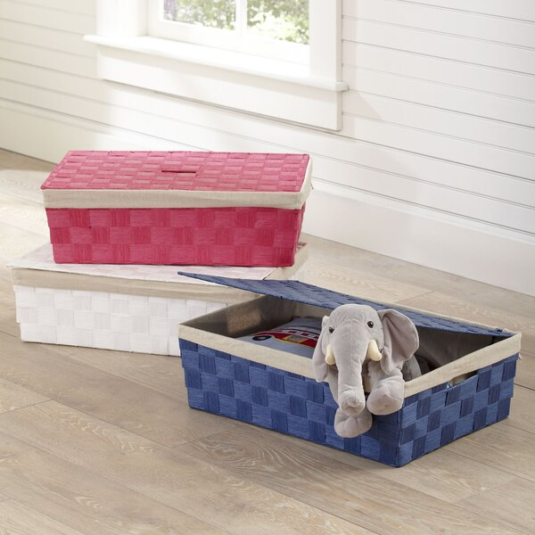 Lidded Underbed Basket by Birch Lane Kids™