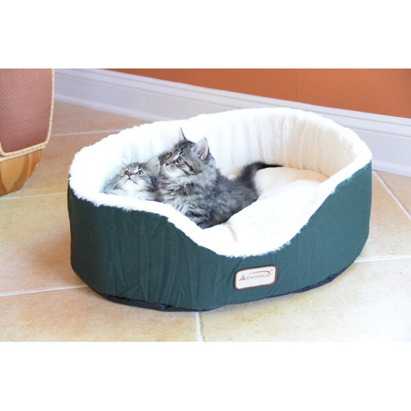 Cat Bed in Laurel Green and Ivory by Armarkat