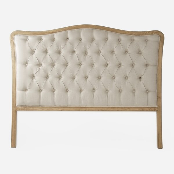 Gracia Queen Upholstered Panel Headboard by One Allium Way