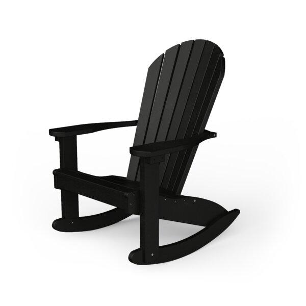 Poly Plastic Rocking Adirondack Chair by YardCraft