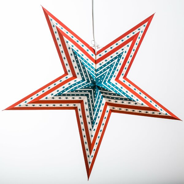 US Flag Paper Star Light by Hometown Evolution, Inc.