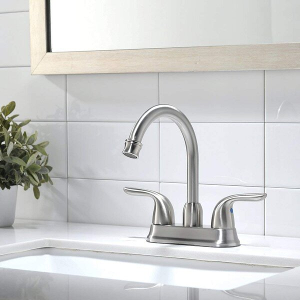 Centerset Bathroom Faucet With Drain Assembly By VAPSINT