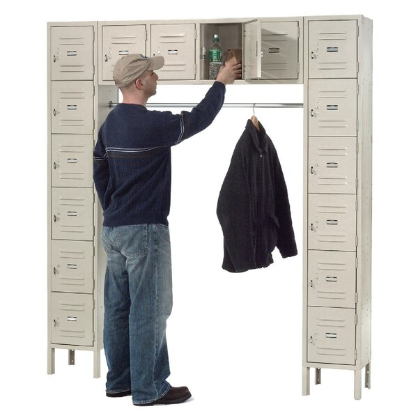 1 Tier 3 Wide Gym Locker by Nexel1 Tier 3 Wide Gym Locker by Nexel