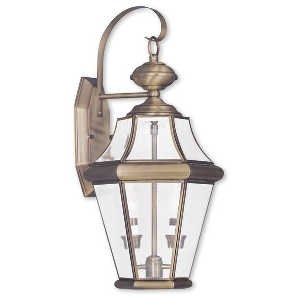 Violetta 2-Light Outdoor Wall Lantern by Darby Home Co