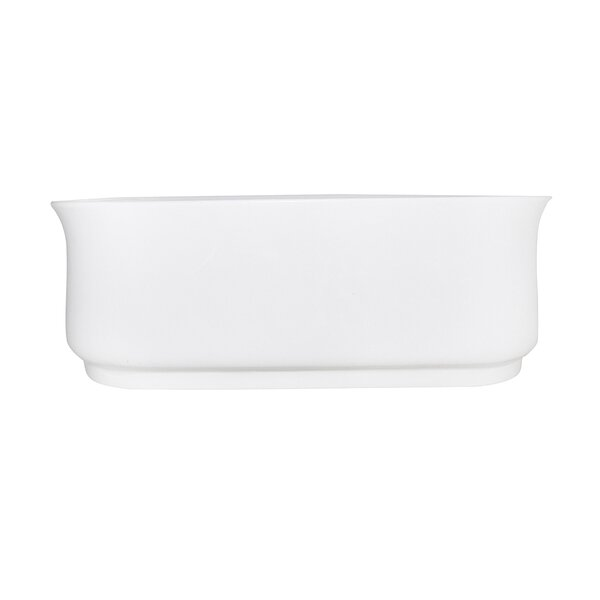 Aqua Eden Contemporary 66 x 27 Freestanding Soaking Bathtub by Kingston Brass