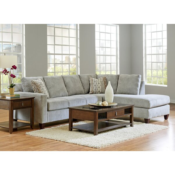 Crockett Right Hand Facing Sectional By Darby Home Co