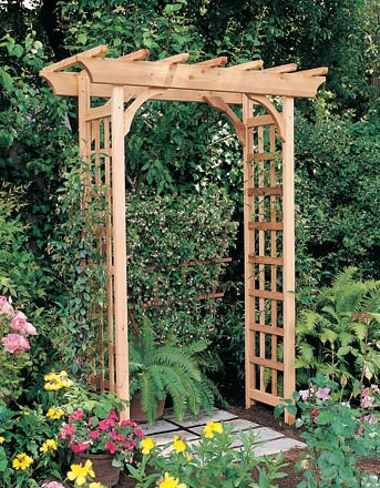 Rosedale Wood Arbor by Arboria