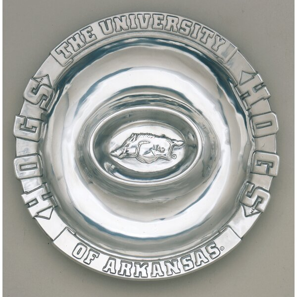 NCAA Divided serving dish by Arthur Court Designs
