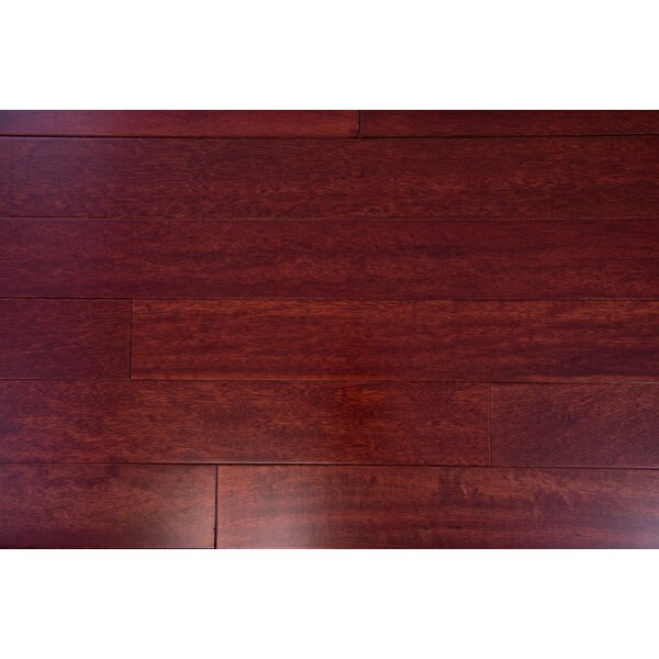 Budapest 3-5/8 Engineered Kempas Hardwood Flooring in Sangria by Branton Flooring Collection