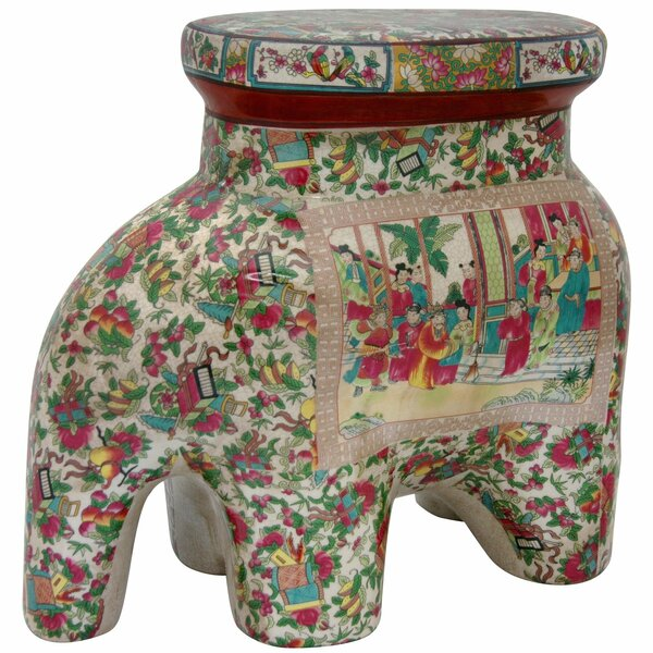 Elephant Stool by Oriental Furniture