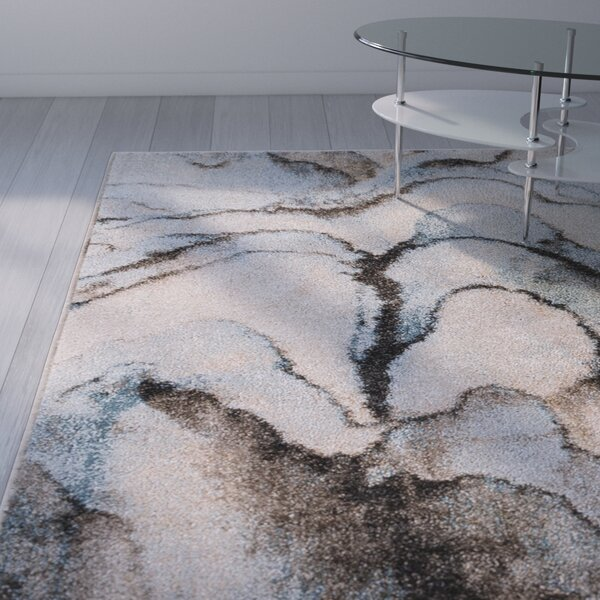 Kirkwood Blue/Gray Area Rug by Wade Logan
