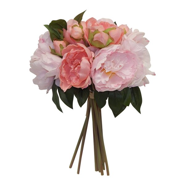 Faux Garden Peony Bundle by Ophelia & Co.