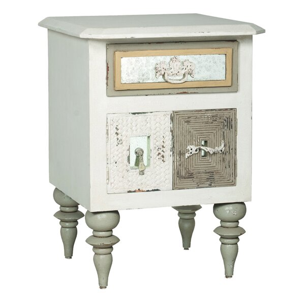 Laurentides Mosaic Mirror Side Accent Chest by One Allium Way