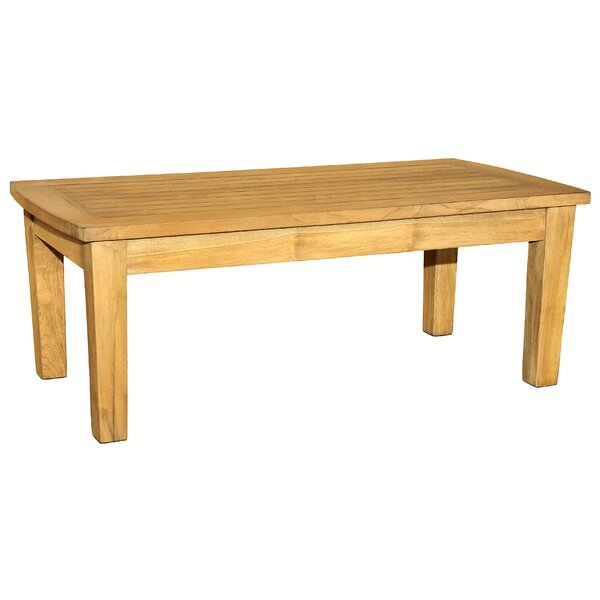 Kugler Solid Wood Coffee Table by Millwood Pines