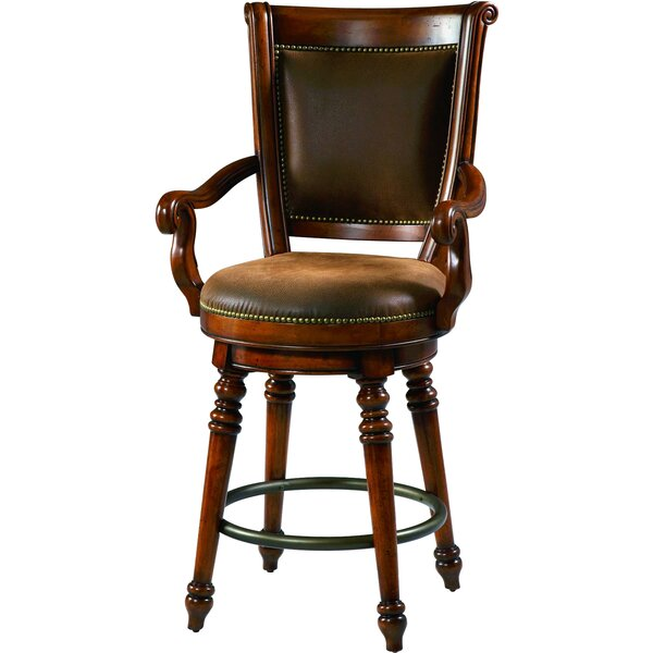 Waverly Place 33 Swivel Bar Stool by Hooker Furniture