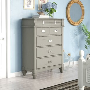 Vasilikos Antique 5 Drawer Chest By Beachcrest Home