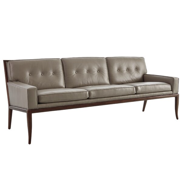 Wilson Leather Sofa by Studio A Home